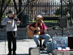 Picture of Street Musicians in New Orleans