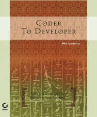 Front cover image of the book Coder to Developer