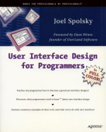 Book: User Interface Design for Programmers