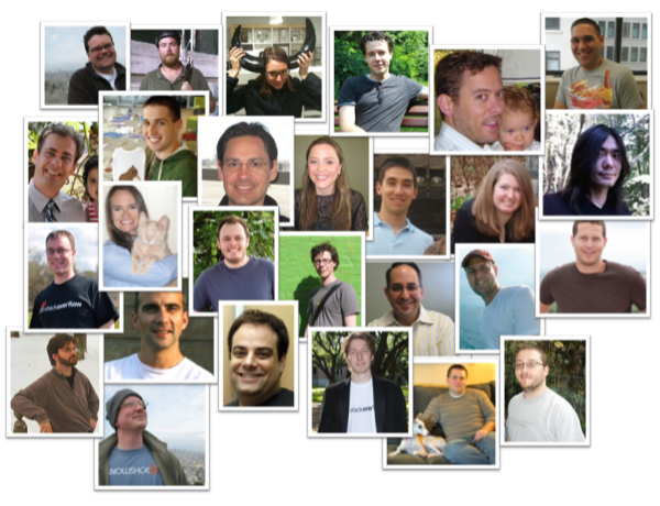 the Stack Overflow team - portraits